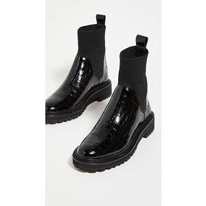 Loeffler Randall切尔西靴