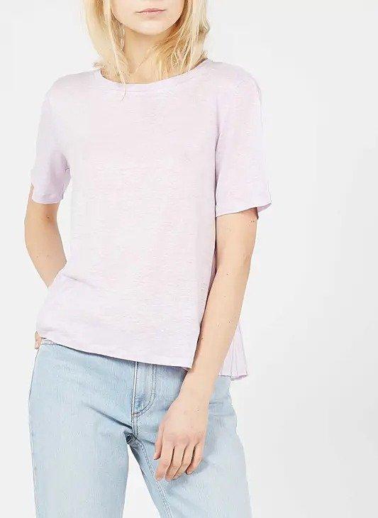浅紫色短袖