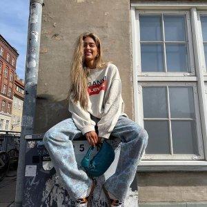 全场7.5折 封面款联名卫衣€165收Ganni 独家大促 收卫衣、连衣裙、T恤 超多春夏美衣