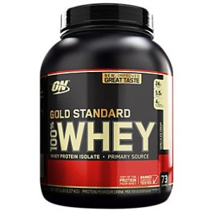Buy 2 Get 1 FreeGold Standard 100% Whey - Vanilla Ice Cream (5 Pound Powder) by Optimum Nutrition at the Vitamin Shoppe