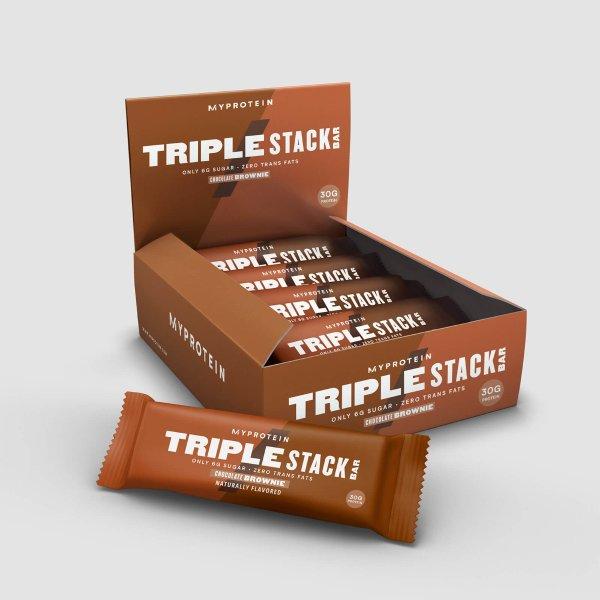 Triple Stack 蛋白棒 12条