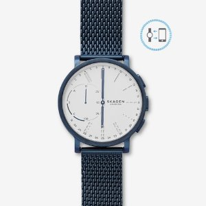 SkagenHagen Connected Steel-Mesh Hybrid Smartwatch
