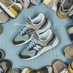 6折起+包邮 $69.99收粉色720New Balance 997、996等复古潮鞋热卖 $79.99收X-90