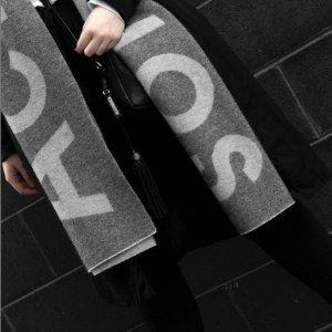 3折起!白T仅€144上新:Acne Studios 最全款式专场 围巾、开衫、毛衣、囧脸等超全