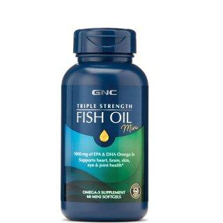 买1送1 + 无门槛额外8.5折GNC 多款鱼油促销 收强效鱼油CoQ10低至$14