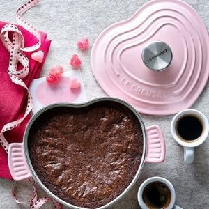 Free HERITAGE PETITE HEART COCOTTE With $150 Valentine's Day Gift Purchase @ Le Creuset