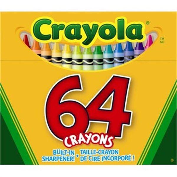 64色蜡笔