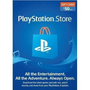 $43.49$50 PlayStation Network Gift Card