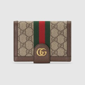 GucciOphidia 老花钱包