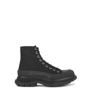 Alexander McQueen新款厚底靴