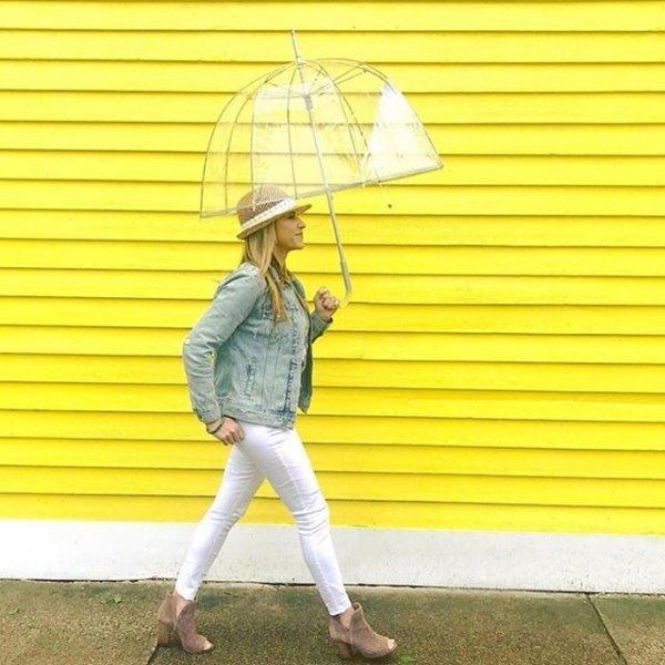 经典透明泡泡伞
