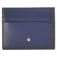 Montblanc 蓝色卡包
