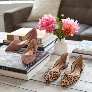 低至4折 收粉丝最爱超舒服平底鞋Sam Edelman 精选女式平底鞋,高跟鞋热卖