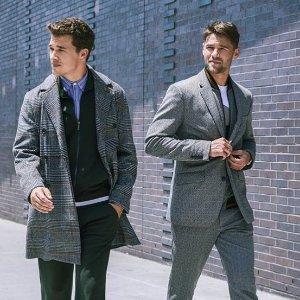 Extra 40%+20% OFFPerry Ellis Men's Sweater &Coat Sale