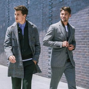 Extra 40%+20% OFFPerry Ellis Men's Sweater &Coat Sale
