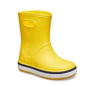 全站低至5折+额外7折 $6.99起即将截止:Crocs官网 童鞋Labor Day大促,新雨靴上市