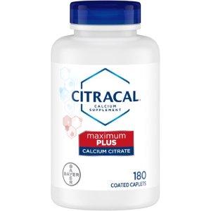 Citracal Maximum Plus, Calcium and Vitamin D3 Supplement to Support Bone Health*, 180 Caplets - Walmart.com