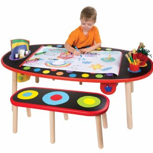 $87.99 ALEX Toys Artist Studio Super Art Table with Paper Roll