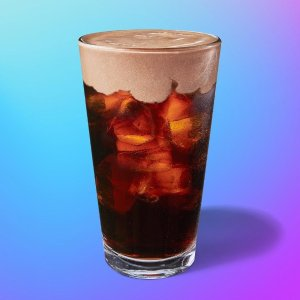 可可奶盖冷萃咖啡仅40卡上新:星巴克杏仁奶盖、燕麦奶盖冷萃咖啡新品开售