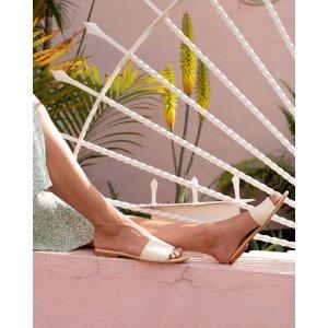 Isla Slide Sandal Bone