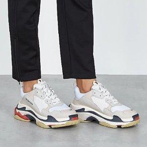 一律8.5折 老爹鞋仅£505 钱包£250折扣升级:Balenciaga 潮牌超值收 罕见配色老爹鞋 全套穿搭上线