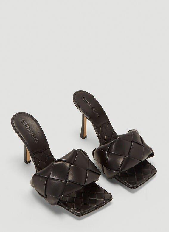Padded Intreccio 编织高跟鞋