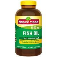 Nature Made 含OMEGA3高浓度鱼油 1000 mg 320粒
