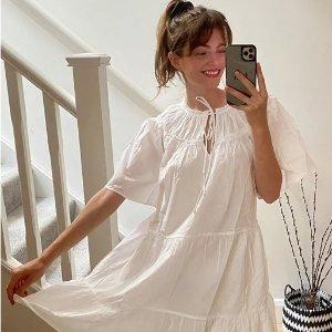 低至3折+新人8折 封面小白裙$19