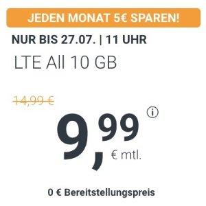 月租€9.99 相当于立省€312!立省€140!包月所有电话/短信+10GB上网+欧盟漫游