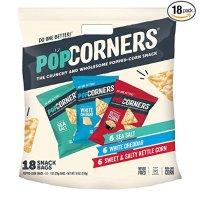 POPCORNERS 玉米片 3种口味综合包装 18包装