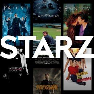 前3个月仅$5/月, 价值$26.97STARZ 视频流媒体订阅服务 新人优惠, 剧集电影随时随地看