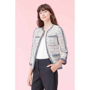 Speckled Tweed Jacket | Rebecca Taylor
