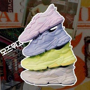 Yeezy700平替 定价€120 马卡龙色可选adidas OZWEEGO CELOX球鞋新上架 90年复古风格重现