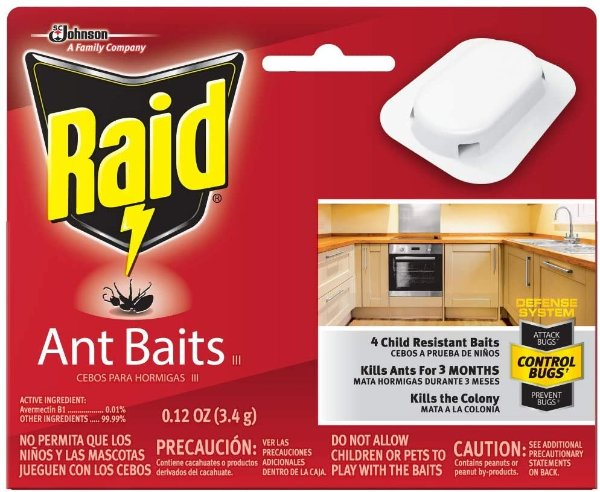 Raid 强效杀蚂蚁药,8块