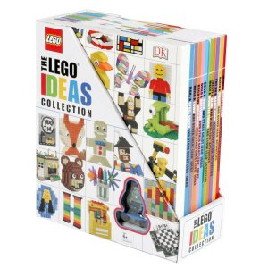 Lego Ideas Collection: 10 Book Box Set with Figurine