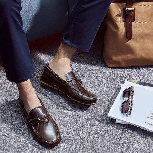 低至4.8折 做时髦绅士Cole Haan 精选男士乐福鞋、牛津鞋等热卖