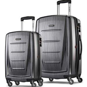 $177.63 (原价$599)新秀丽 Samsonite Winfield 2行李箱20寸+24寸 超值套装