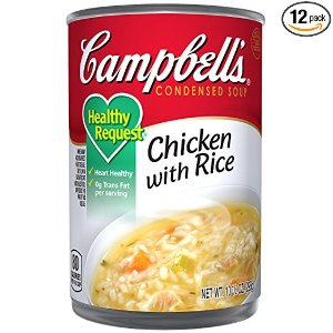 As low as $10.16, $0.84 for eachCampbell's Healthy Request Condensed Soup 12-Pack