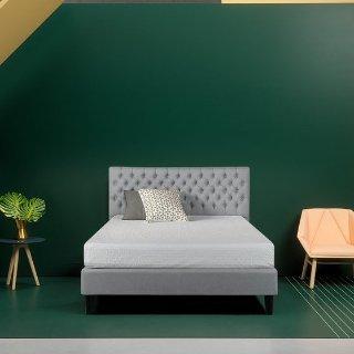 额外6折 $167起Zinus 精选布艺床架促销,多尺寸可选