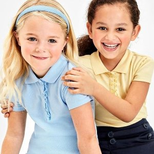 包邮 Polo低至$4.97折扣升级:Children's Place儿童学校制服4-5折热卖