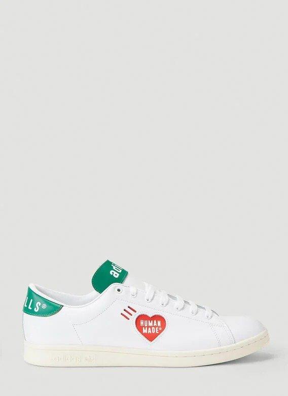 human made 联名款小白鞋