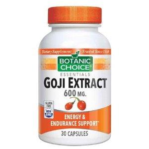 Goji Extract 600 mg.