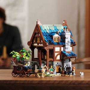 $149.99+双重礼 暂时缺货新品预告:LEGO 中世纪铁匠铺 21325,2月1日上市