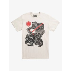 DisneyStar Wars Kylo Ren Sketch T-Shirt
