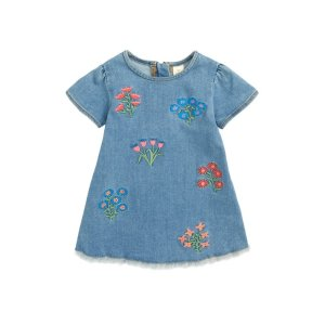 d5d6bafd1b Nordstrom offers up to 50% off Exclusive Kids Brands. Free shipping. Tucker  + TateEmbroidered Denim Dress