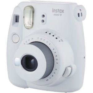 FUJIFILM INSTAX Mini 9 Instant Film Camera with Instant Film and Case Kit