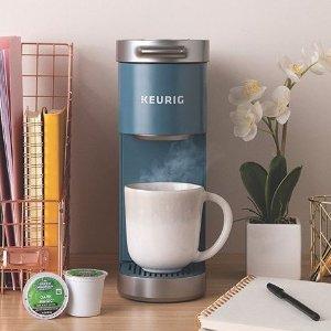 最高立减$102 $49收奶泡机Keurig 母亲节好礼 网红时尚咖啡机套组 奶茶拿铁在家喝