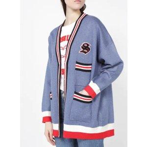 Sandro蓝色针织外套