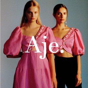 低至6折 Logo毛衣$192Aje. 官网大促 澳洲设计感美衣饰品 名媛少女品味之选