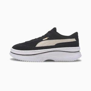 PumaDEVA 麂皮厚底鞋